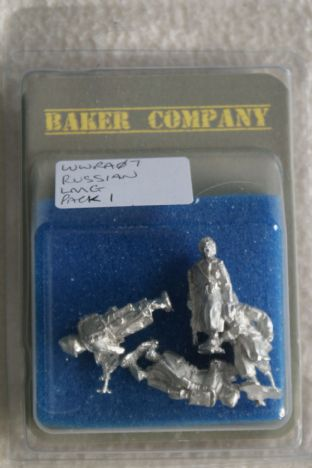 Baker Company 28mm WWRA07 Russian LMG Pack 1